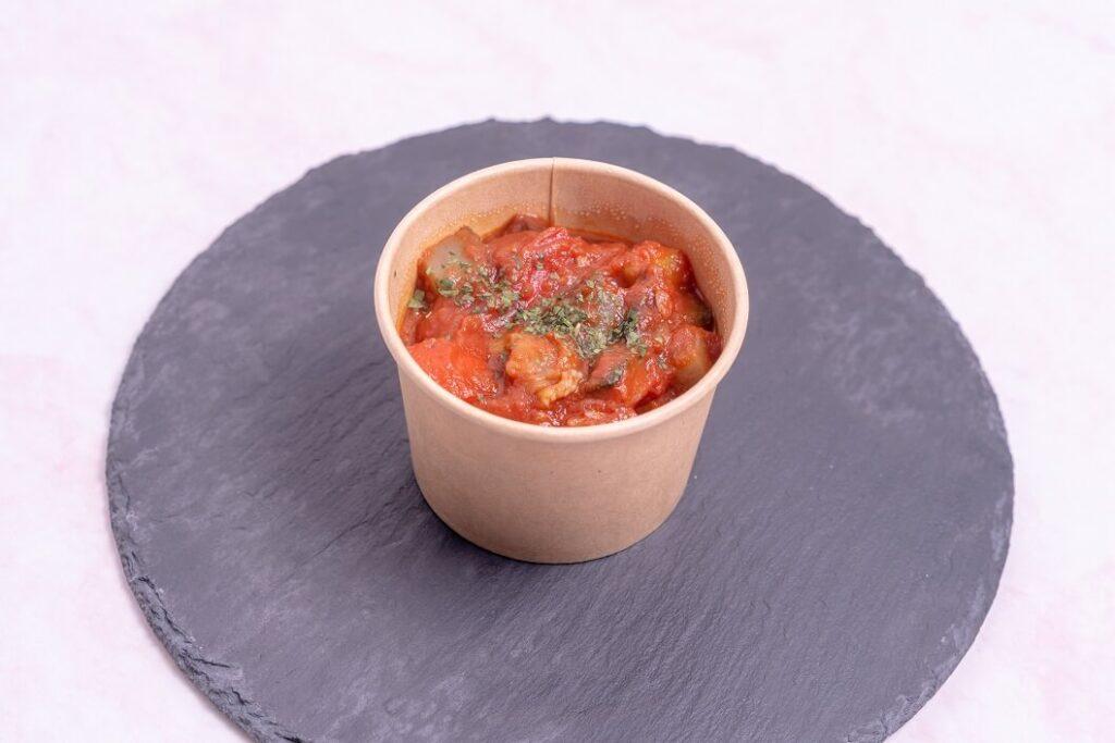 たくさんの野菜をトマトソースでじっくり煮込んだ、ラタトゥイユ